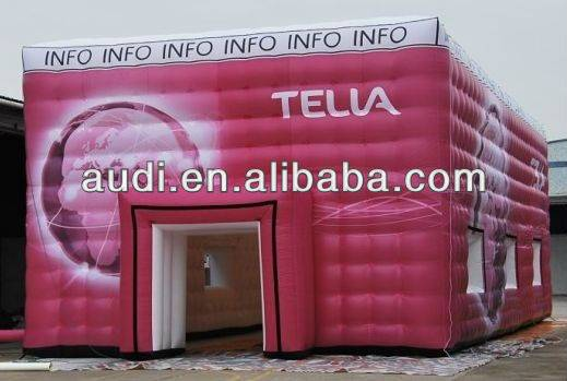outdoor inflatable marquee,PVC inflatable tent,inflatable structure building