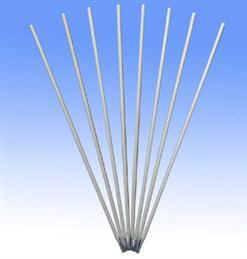 Low temperature steel welding rod
