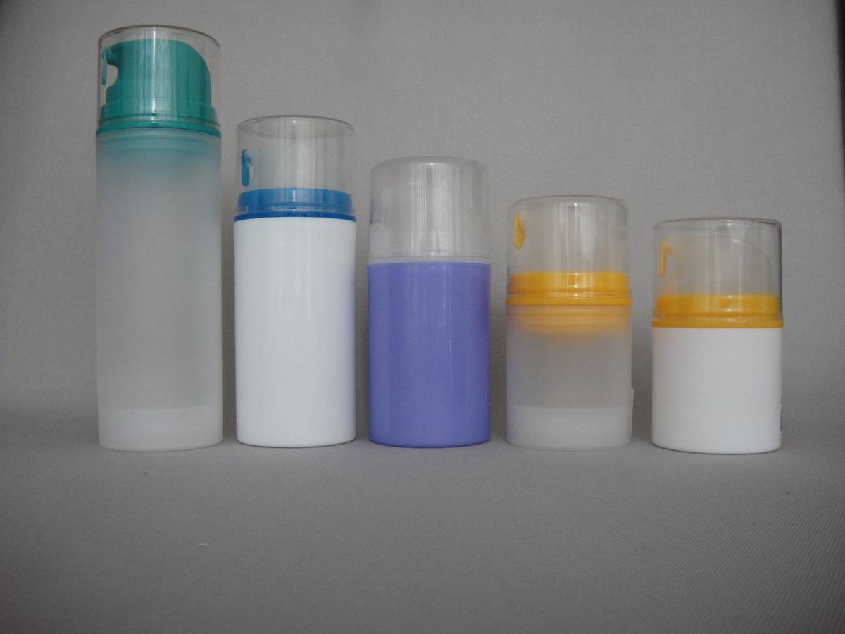 plastic lotion bottles cosmetic airless bottles