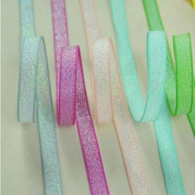 Decorative packaging ribbon
