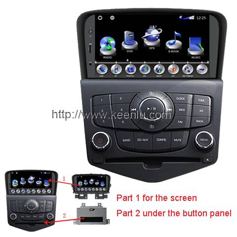 All-in-one Special Car DVD Player for Chevrolet Cruze / Lacetti II