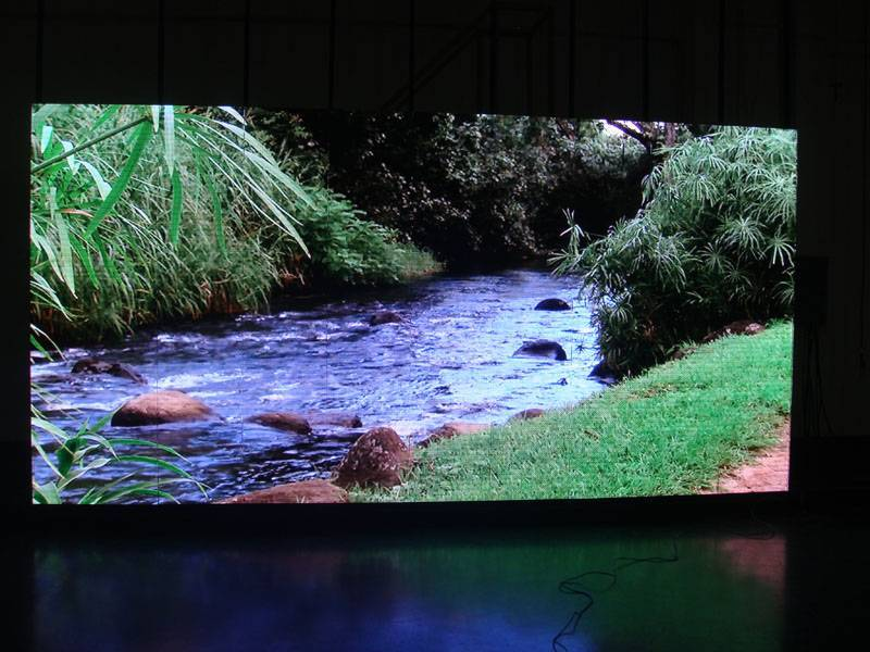 indoor P4 led video wall