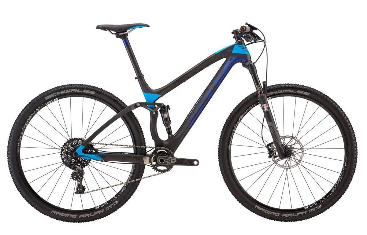 Felt Edict 1 Mountain Bike 2017 - Full Suspension MTB