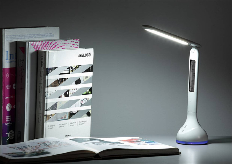 Table Lamp With RGB Mode Light and Calendar