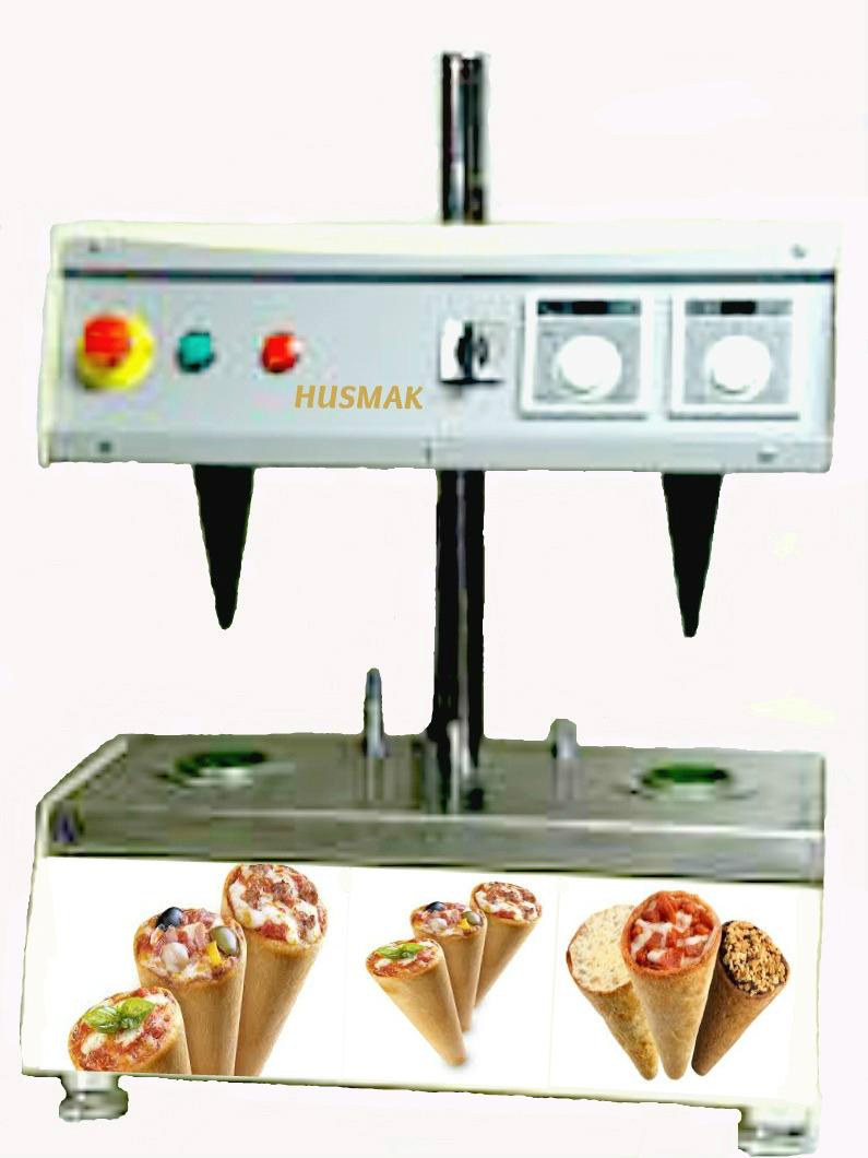 SMALLEST PIZZA CONE MACHINE 2 cone Automatic