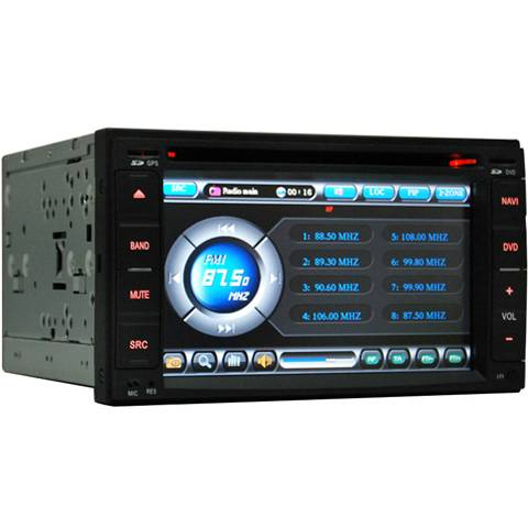All-in-one Special Car DVD Player for Nissan / Hyundai / Kia