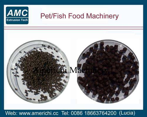 Fish feed pellet machines