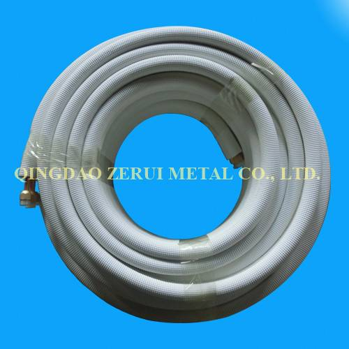 50FT Insulated Pair Coil Copper Tube for Central Air Conditioner