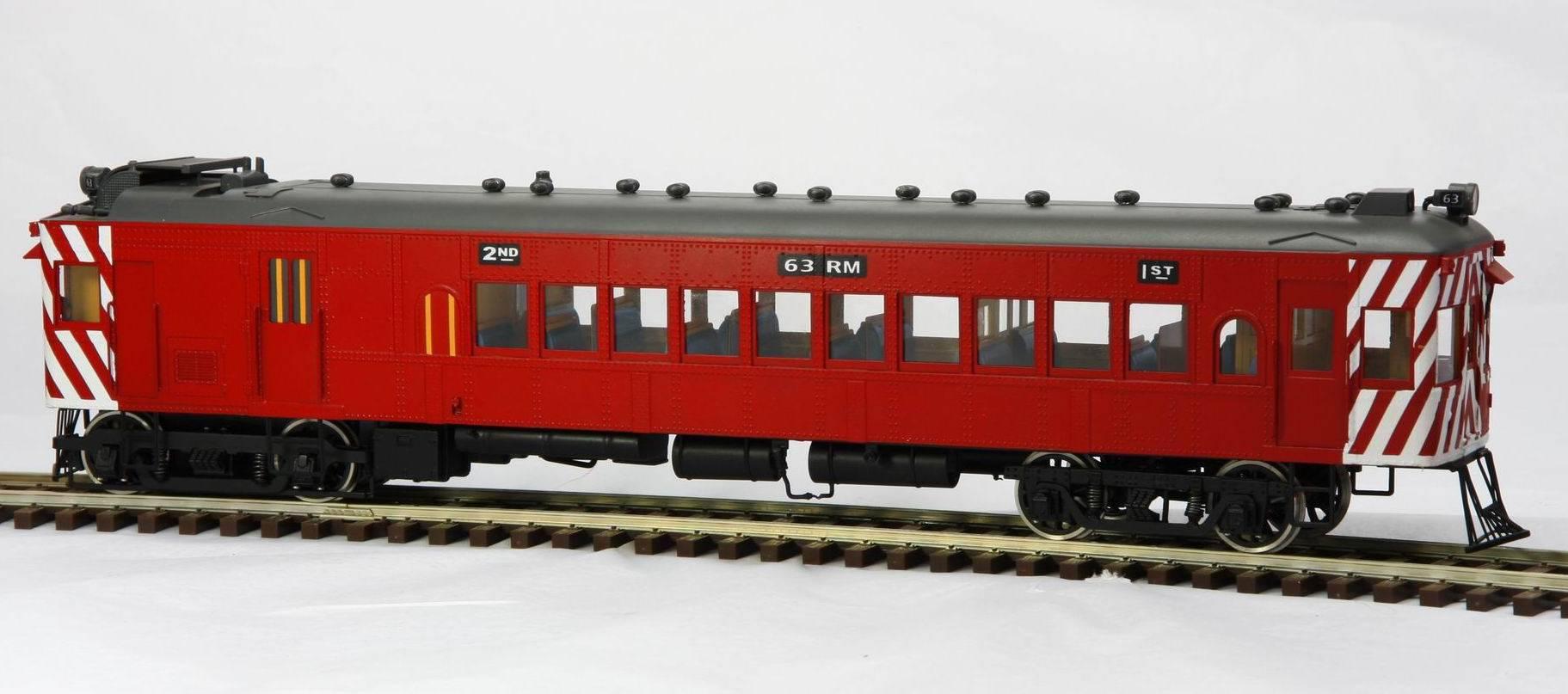O scale brass train toy