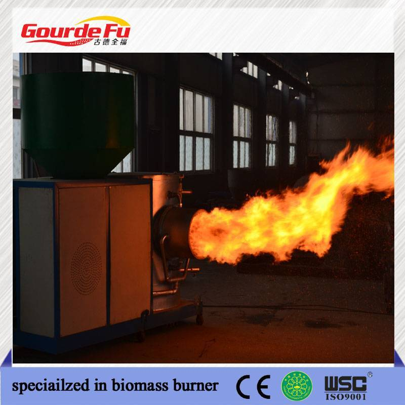 Great biomass sawdust burner for industry furnace