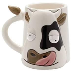 FUNNY MUG Mad Cow Mug