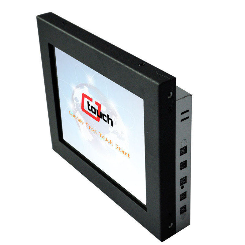 8 inch SAW Touch Sreen lcd monitor cheap USB RS232 Industrial monitor