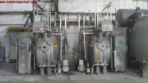 Used sample dyeing machine, drum type, 2005