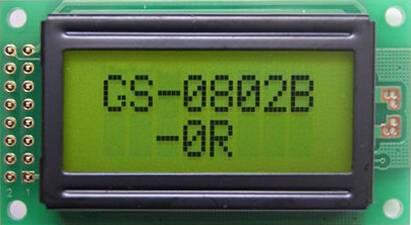 Character LCD 8x2: KTC08201