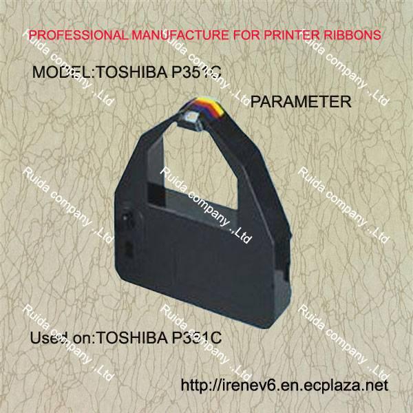 Compatible stylus printer ribbon for printer TOSHIBA P321SL