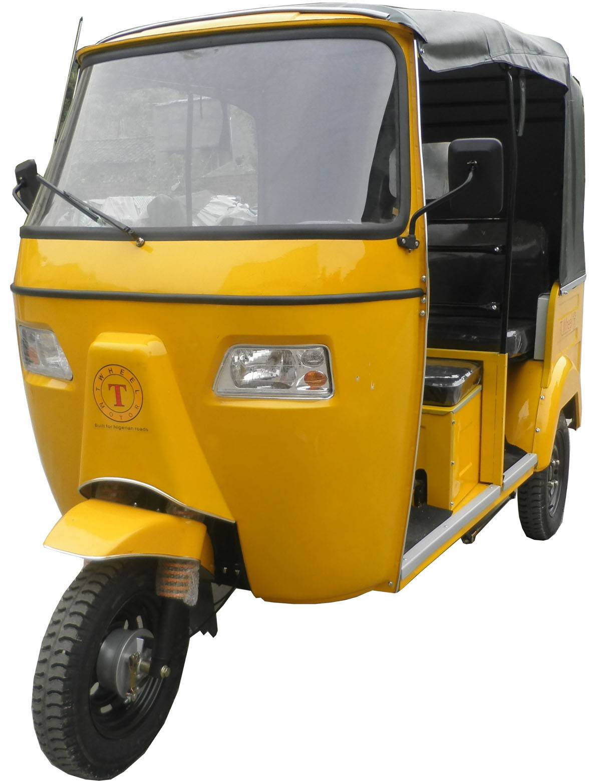 Bajaj Tricycle with rear engine, Moto taxi, Taxi Tricycle