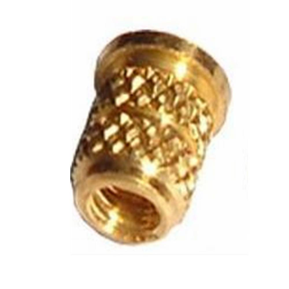 precision cnc machining knurling copper nuts