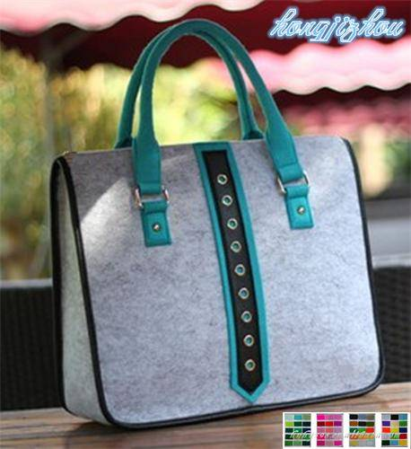 fashion custom nonwoven felt handbag hot sale