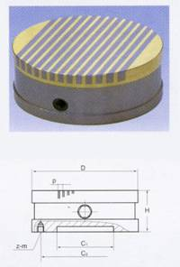 supplying permanent magnetic chuck