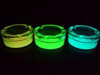 photoluminescent glass ashtray