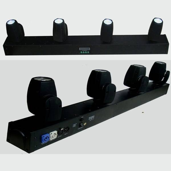 sell 4 heads LED Beam Moving Bar 4x10W 4IN1