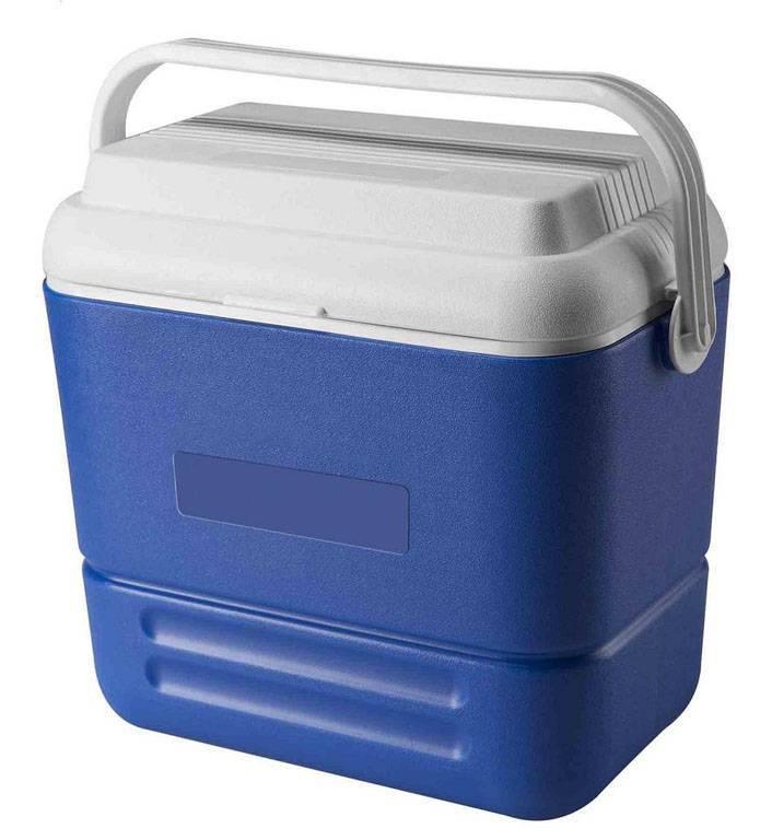 36L plastic environmental fishing cooler box