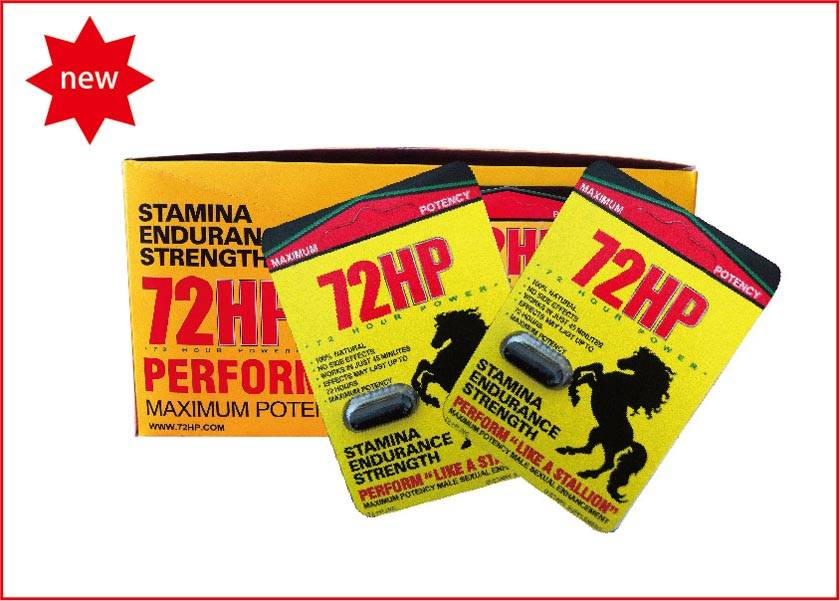 Natural 72HP Pills Sexual Enhancement, Lasting Up 72 Hours For Bettr Sexual Performance