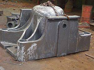 Casting parts in ductile casting iron and grey casting iron