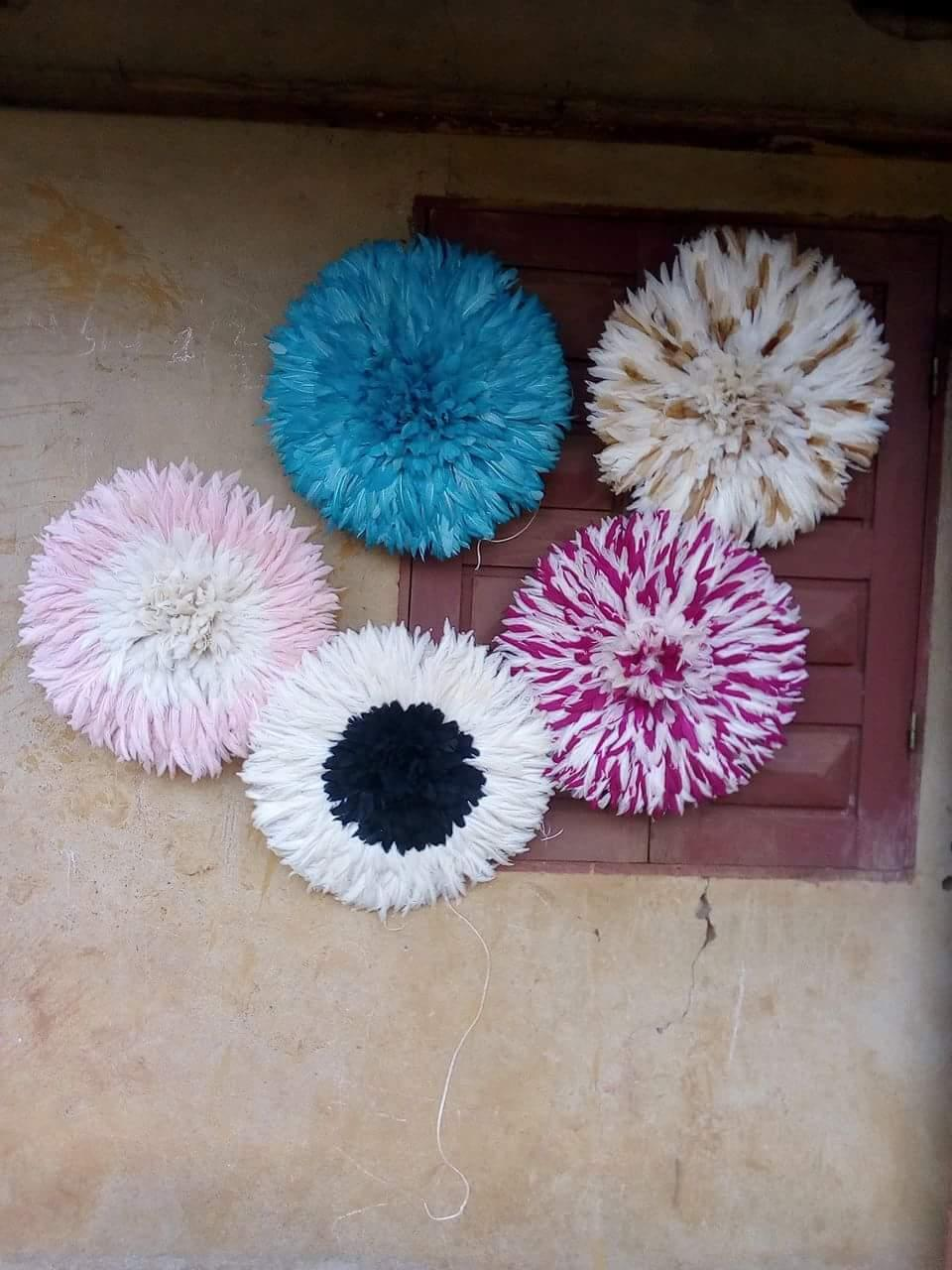 Feather Juju Hat for wall hanging wholesale.