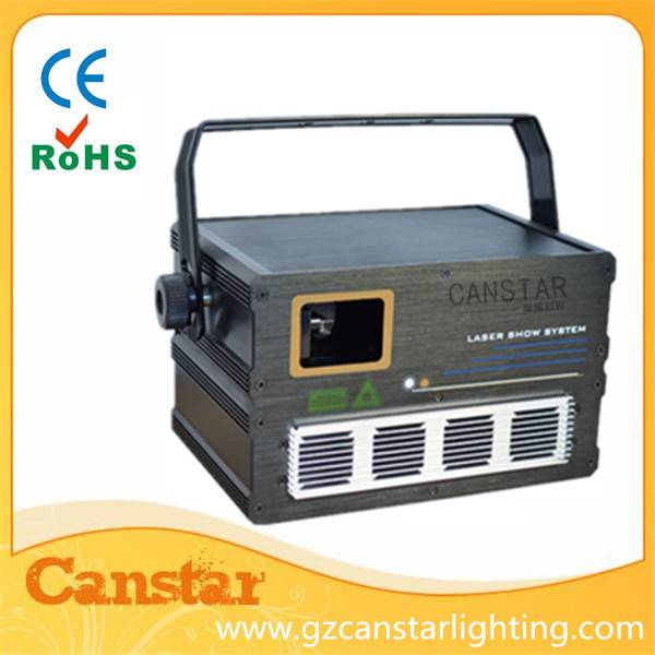 1000mW 1W RGB Full Color cartoon stage lighting laser