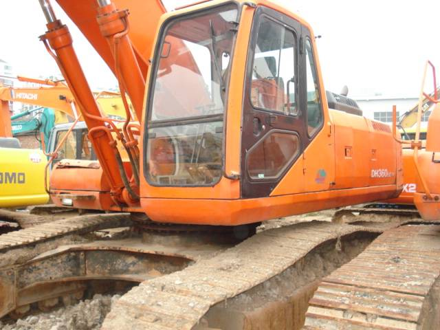 Sell used Daewoo 258  excavator