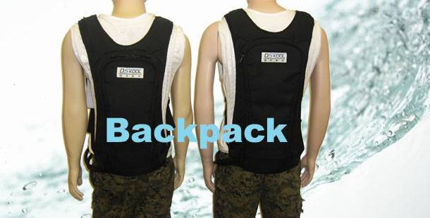 Backpack Personal Cooling System