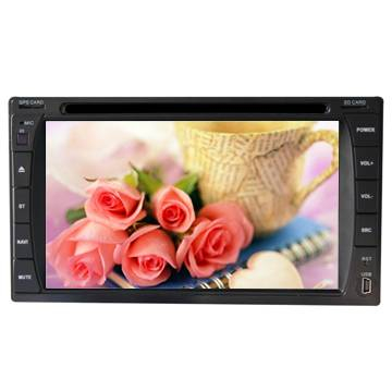 Chinese 6.2 inch Car universal 2 Din DVD/GPS Wholesale
