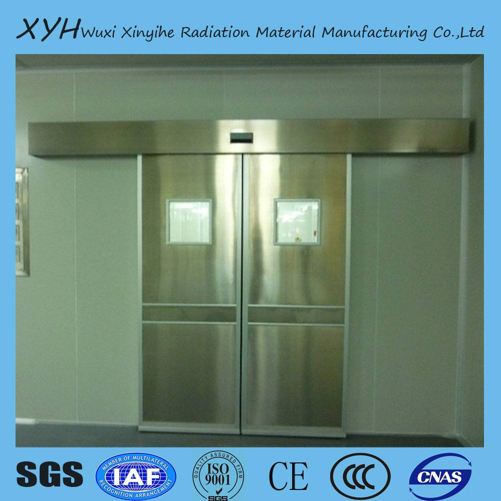 medical x-ray protection lead door