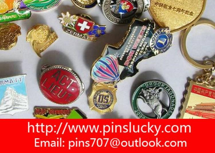 Custom-Made Lapel Pins,Cloisonn,Soft Enamel