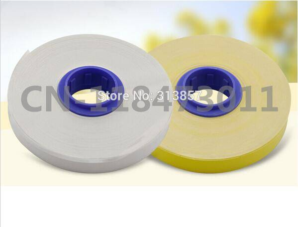 cable marker ID Printer Core label tape TM-1112W For electronic lettering machine MK2500 M-1PRO MK21