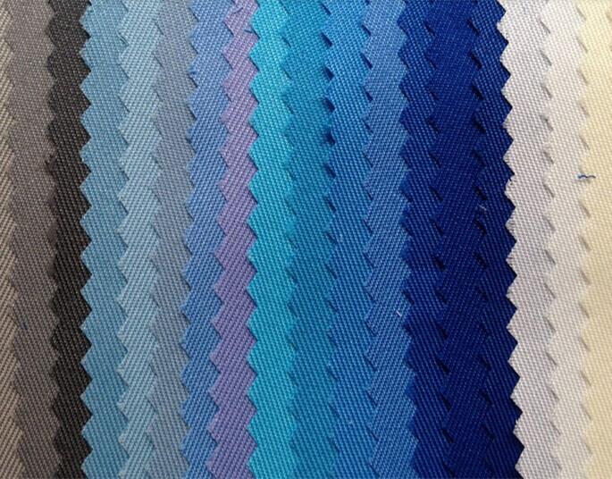 polyester/cotton twill uniform dyed fabrics 2016/12060,workwear fabrics