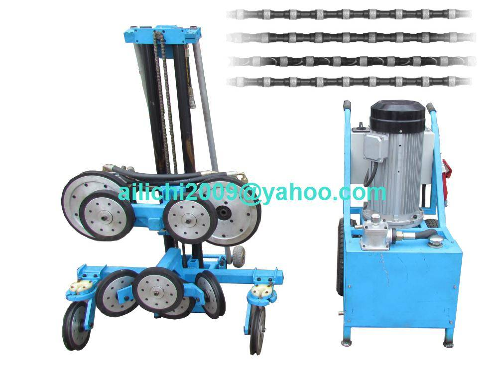Hydraulic Concrete Cutting Machine with Circular Wire Diamond Rope Saw