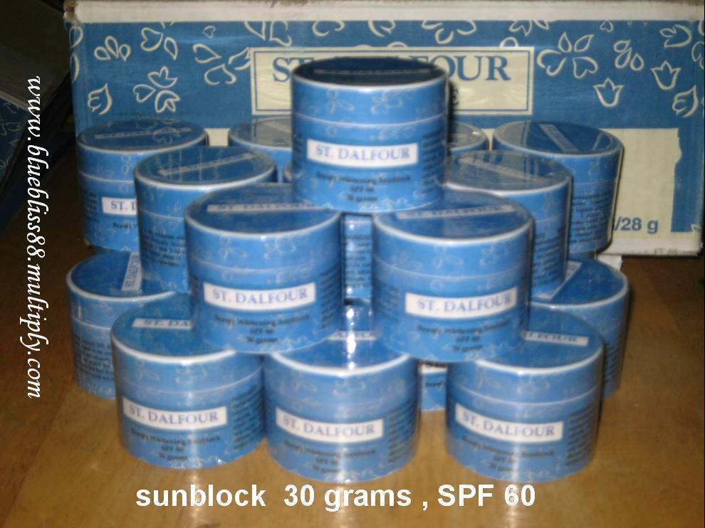 St. Dalfour Sunblock SPF 60 - original