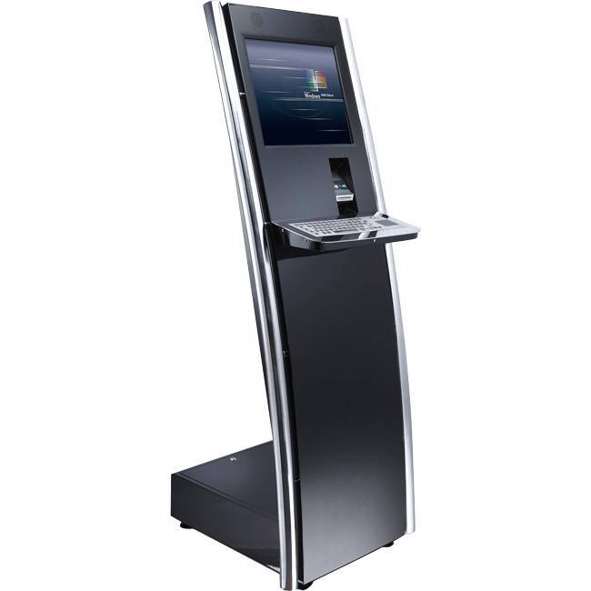 Internet Touchscreen Kiosk With Metal Keyboard/Check In Kiosk (RYS146)