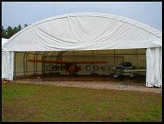 Aircraft Hangar, Warehouse Tents