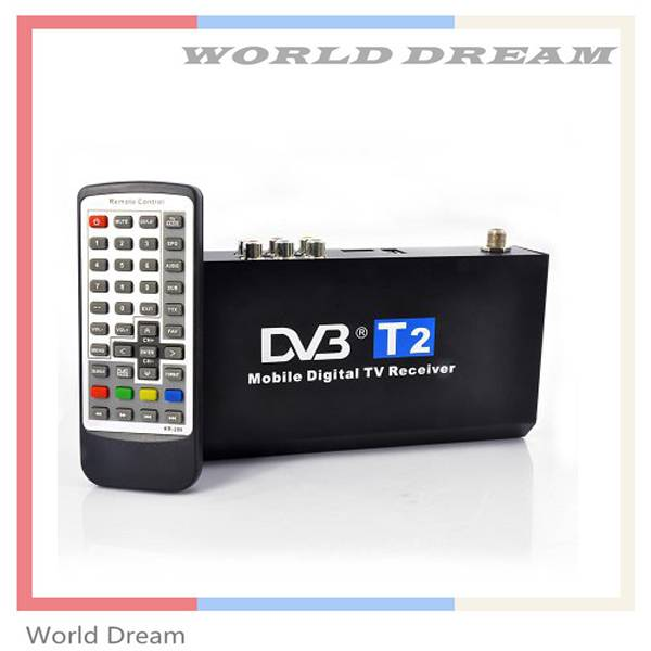 Receiver for car DVB-T2 in TV