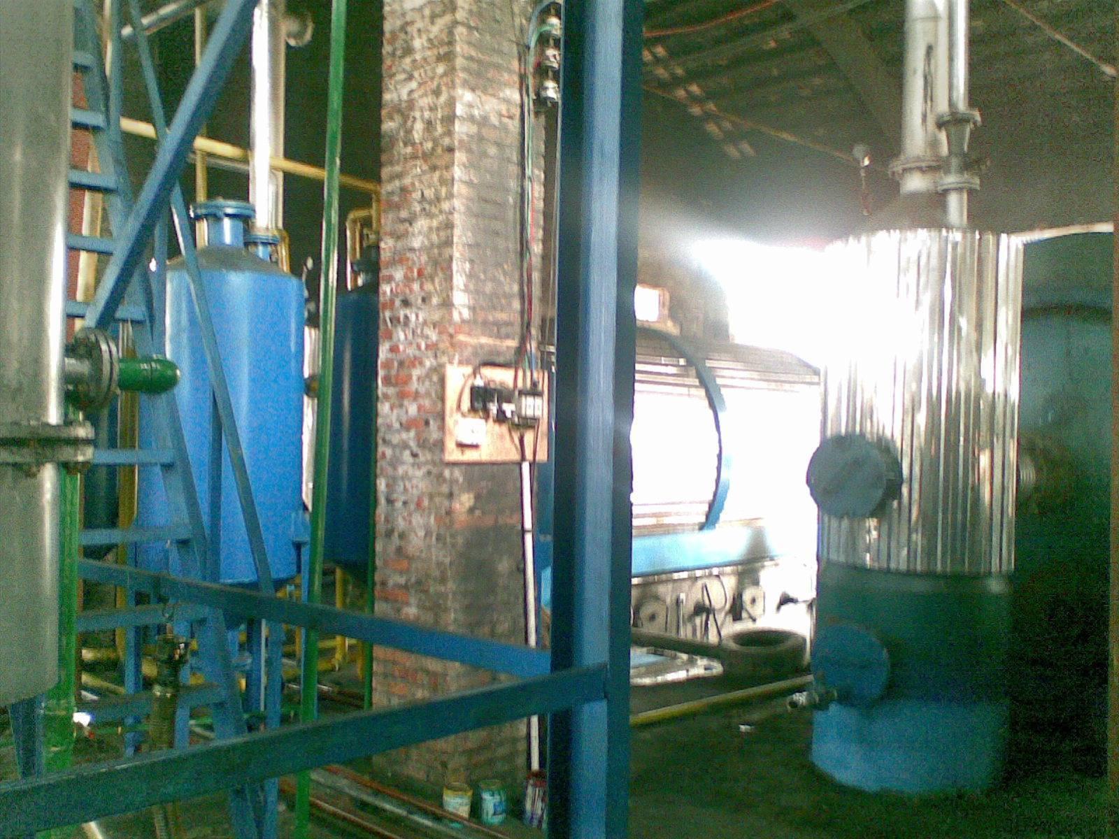 scrap plastic recycling plant