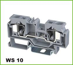 Din-rail Terminal Wire arrage:0.2-10mm2 Part No.WS10