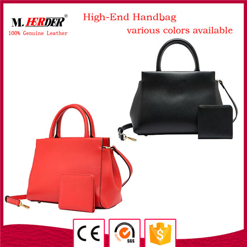 New style ladies leather handbag MD9050