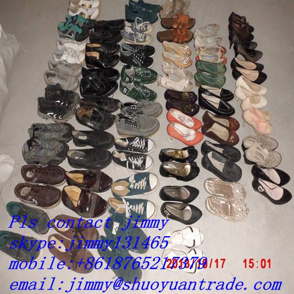 cream quality used shoes in bulk