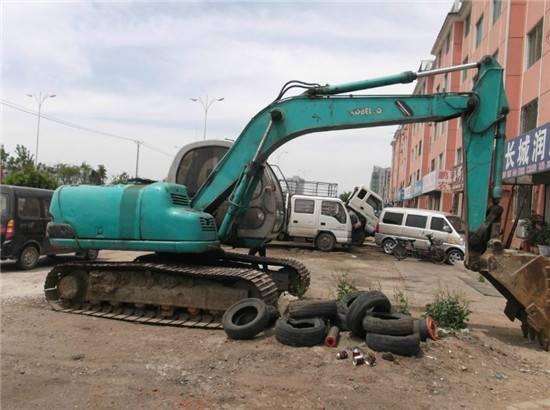 used kobelco sk120 excavator