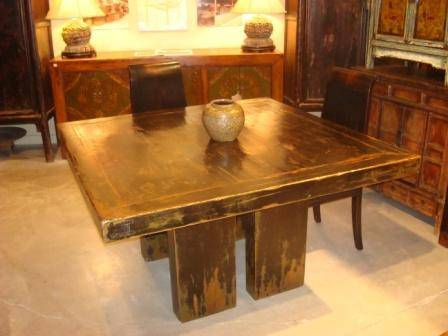 Eastcurio square table