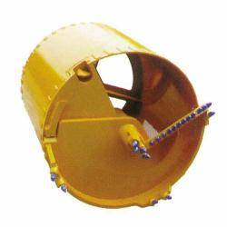 Double bottom single door cutter bucket