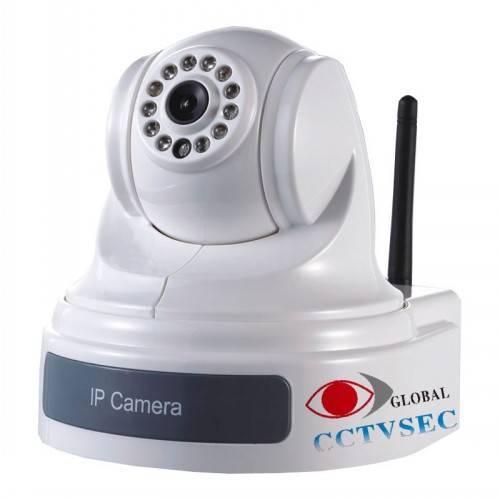 Wireless PTZ IP CAMERA with 10X optical zoom